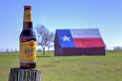 Photograph - Shiner Bock Shiner Texas by JC Findley