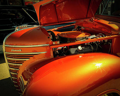 Photograph - Shiny Old Car by Philip Rispin