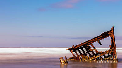Photograph - Ship Wreck by Dheeraj Mutha