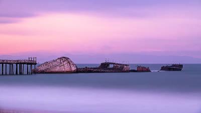 Photograph - Ship Wrecked by Nick Borelli
