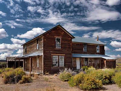 Photograph - Shirk Ranch by Leland D Howard