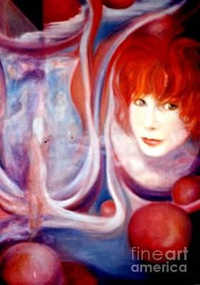 Painting - Shirley Incarnate by Jordana Sands
