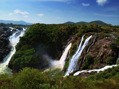 Karnataka Photograph - Shivanasamudra Cauvery Water Falls by (c) Sachin Nigam