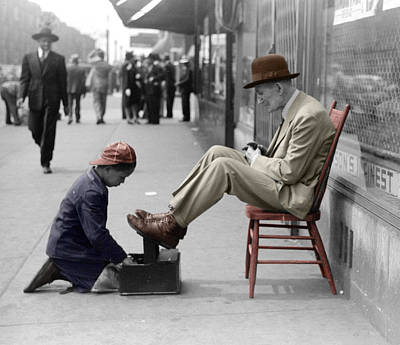 Rabbit Marcus The Great - Shoe Shine Boy by Andrew Fare