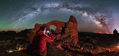 Photograph - Shooting The Celestial Turret by Mike Berenson
