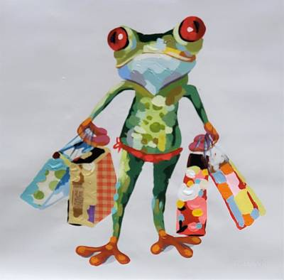 Photograph - Shopping Gecko by Rob Hans