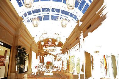 Photograph - Shopping Promenade by John Schneider