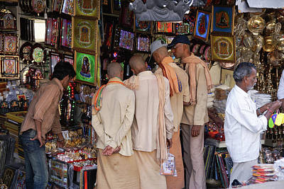 Valentines Day - Shops and trinkets in Tirumala  by Carol Ailles