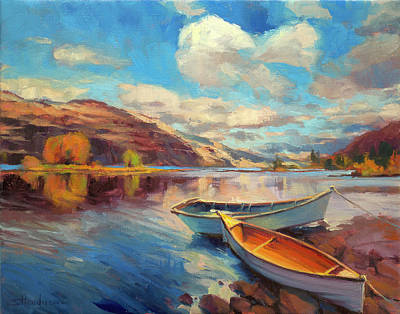 Painting Royalty Free Images - Shore Leave Royalty-Free Image by Steve Henderson