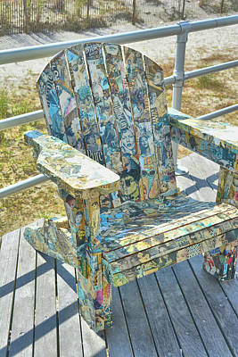 Photograph - Shore Seating by Jamart Photography