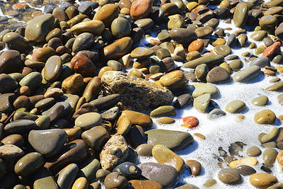 Photograph - Shoreline Rocks by Glenn McCarthy Art and Photography