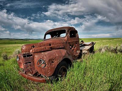Photograph - Shot Up by Leland D Howard