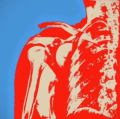 Painting - Shoulder Pop Art by Dan Sproul