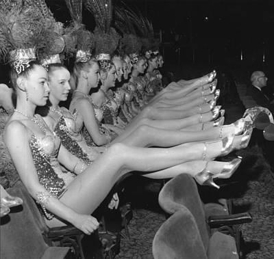 Photograph - Show Girls by Evening Standard