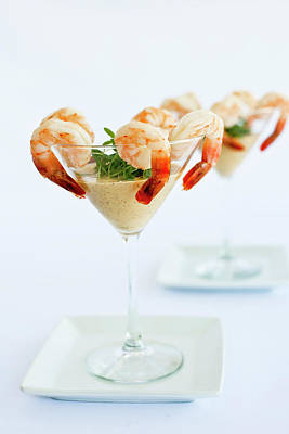 Photograph - Shrimp Cocktail by Pam Mclean