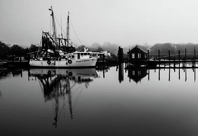 Photograph - Shrimping Town  by Donnie Whitaker