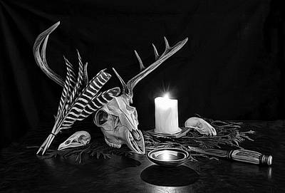 Photograph - Shrine Of The Hunter by Mark Fuller