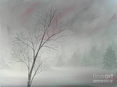Painting - Shrouded In Fog by Judy Horan