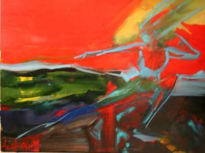 Painting - Sia Alive by Jose Herazo-osorio