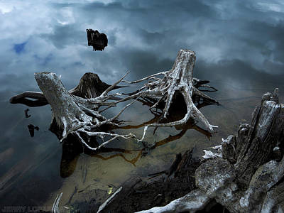 Decay Photograph - Sibling Rivelry by Jerry LoFaro