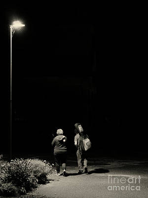 Photograph - Side By Side by Daniel Brinneman