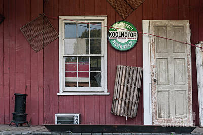 Photograph - Side Porch Treasure by Dale Powell
