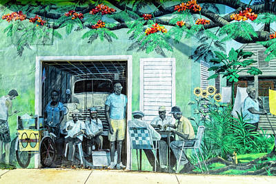 Photograph - Sidewalk Scenes In Key West Take 2 by Kay Brewer