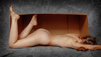 Outerspace Patenets Rights Managed Images - Sienna in a box 66 Royalty-Free Image by Mike Penney