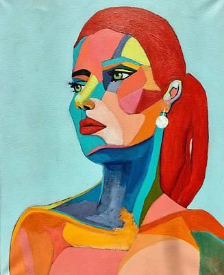Painting - Sierra by Lee Wilde-Portraits