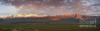 Photograph - Sierra Nevada Mountain Range Panorama  by Michael Ver Sprill