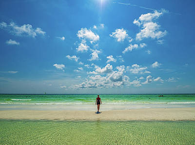 Curtis Patterson Rights Managed Images - Siesta Key Beach Royalty-Free Image by Curtis Patterson
