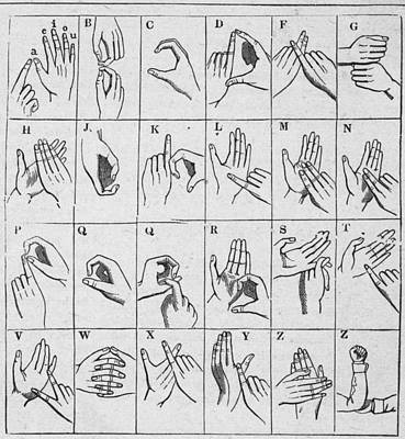 photo relating to Sign Language Chart Printable known as Indication Language Chart as a result of Kean Variety