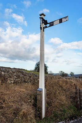 Photograph - Signal At Middleton Top by Scott Lyons