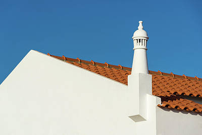 Photograph - Signature Algarvian Roofline -  by Georgia Mizuleva