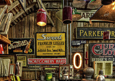 Photograph - Signs by Thom Zehrfeld