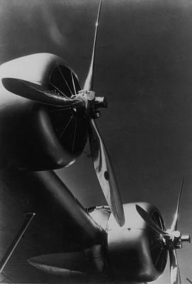 Photograph - Sikorsky Variable-pitch Propellors Which by Margaret Bourke-white