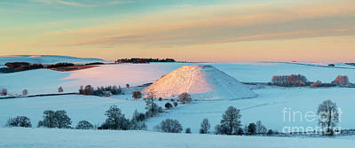 Photograph - Silbury Sunrise by Tim Gainey