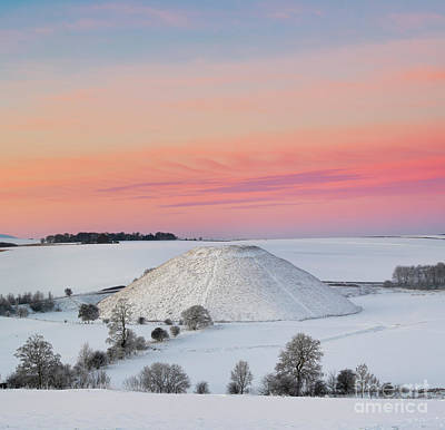 Photograph - Silbury Twilight  by Tim Gainey