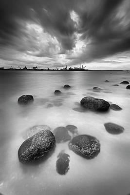 Photograph - Silence Rush by Jolemarcruzado