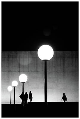 Photograph - Silhouettes In The Darkness by Jorge Losada Quintas
