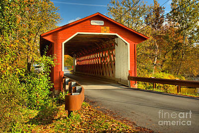 Photograph - Silk Road Covered Bridge by Adam Jewell