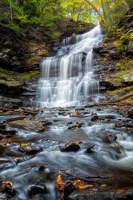 Photograph - Silky Flow by Russell Pugh