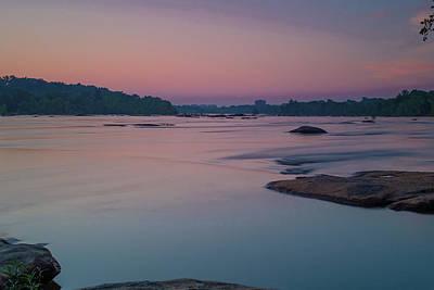 Photograph - Silky Smooth Sunrise On The James by Doug Ash