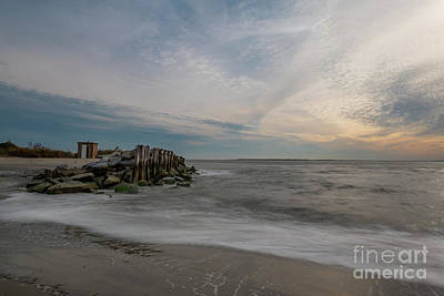 Photograph - Silky Waters Of The Atlantic by Dale Powell