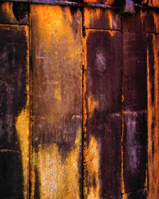 Photograph - Silo Abstract 2 by Jerry Sodorff