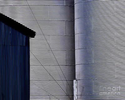 Photograph - Silo Door by Guntis Lauzums