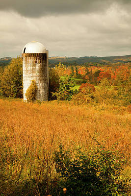 Photograph - Silo In Salisbury by Karol Livote