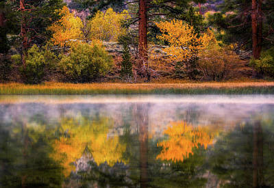 Photograph - Silver Lake - Breath Of Air by Francesco Emanuele Carucci
