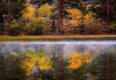 Photograph - Silver Lake by Francesco Emanuele Carucci
