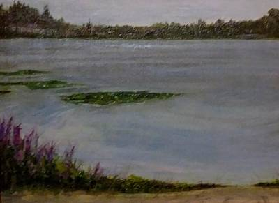 Painting - Silver Lake During The Wildfires by J Reynolds Dail